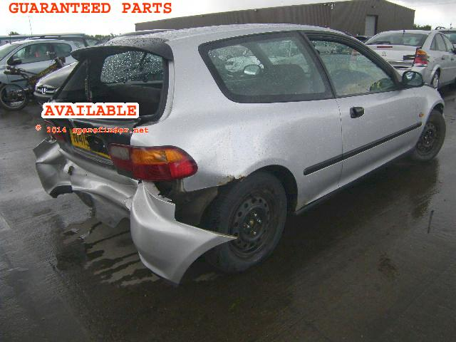 Cheap 1995 HONDA CIVIC LSI Spare Car Parts, Most Parts Available.