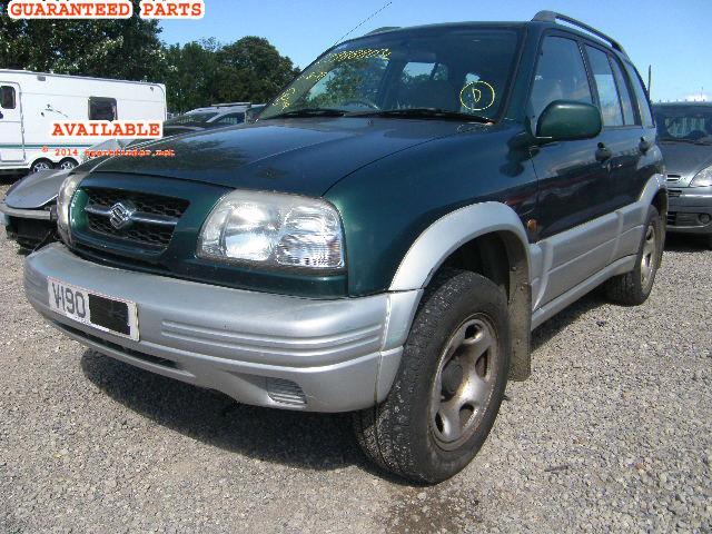 2000 Suzuki grand Vitara Parts catalog manual De Usuario